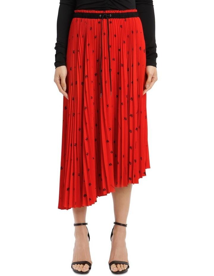 Mid-Length Pleated Skirt image 1