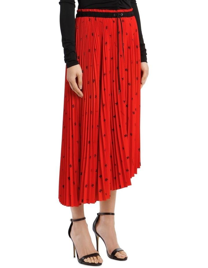 Mid-Length Pleated Skirt image 2