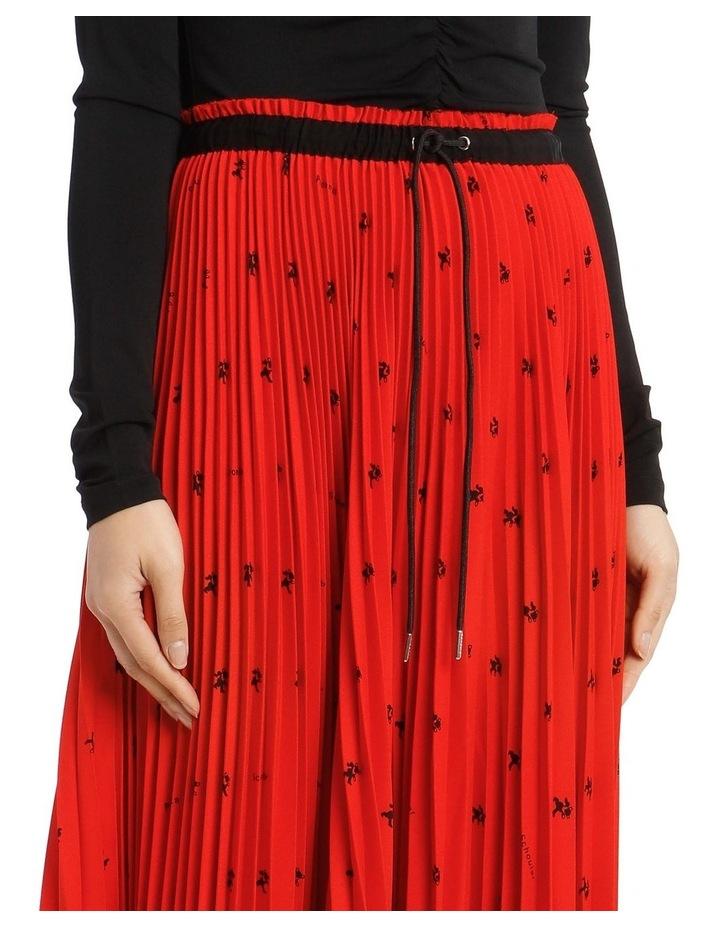 Mid-Length Pleated Skirt image 4