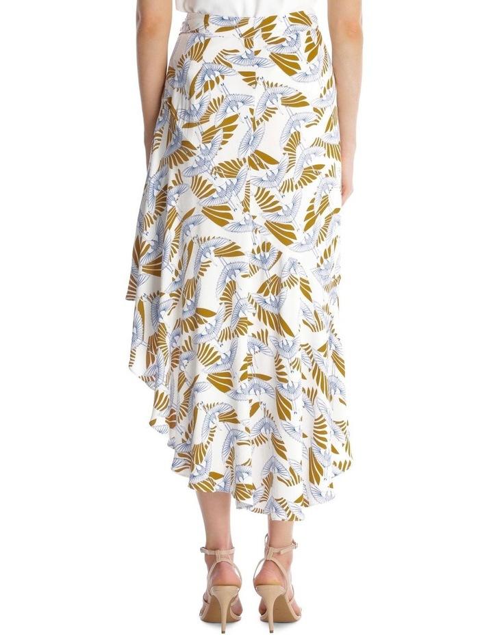 Amalia Bird Print Skirt image 3