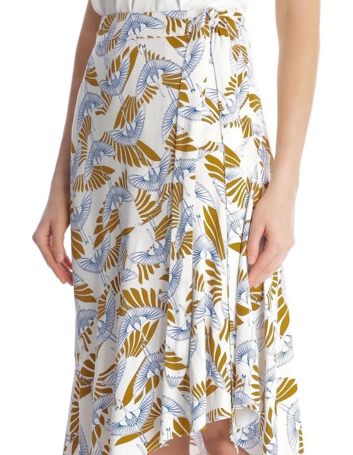 Amalia Bird Print Skirt image 4