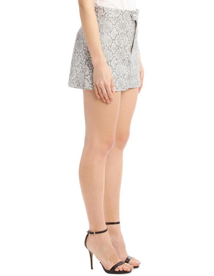 Snake-Print Miniskirt image 2