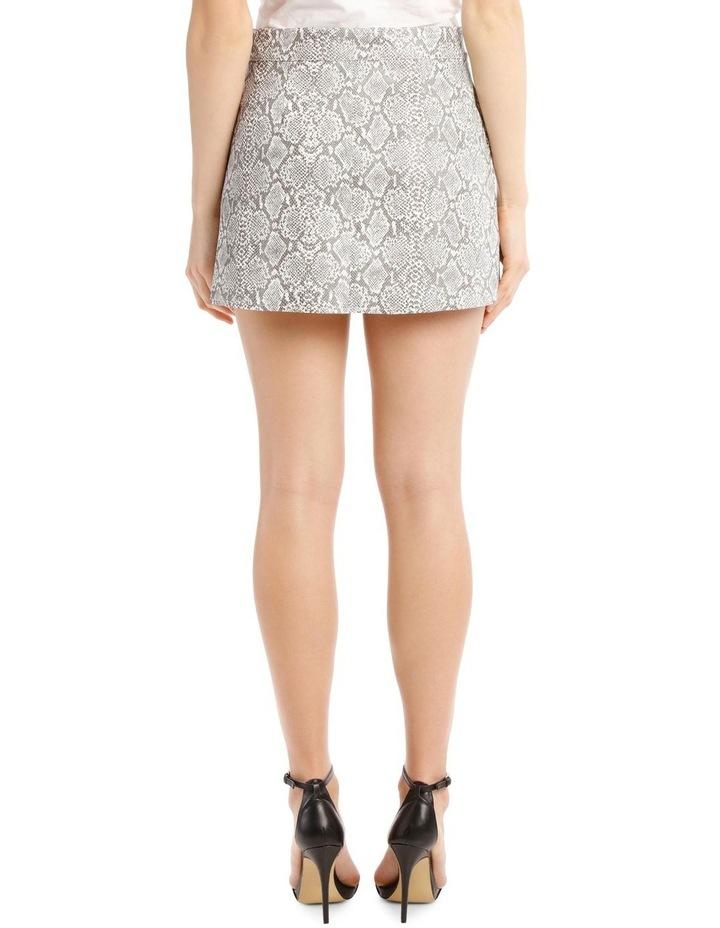 Snake-Print Miniskirt image 3