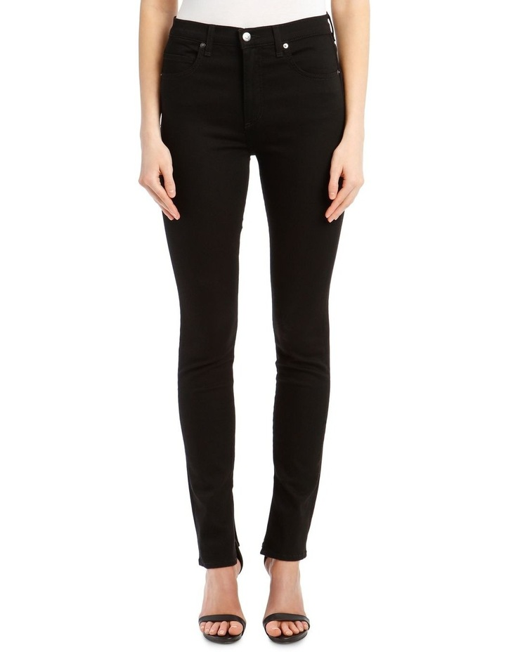 Kate High-Rise Skinny with Slit image 1