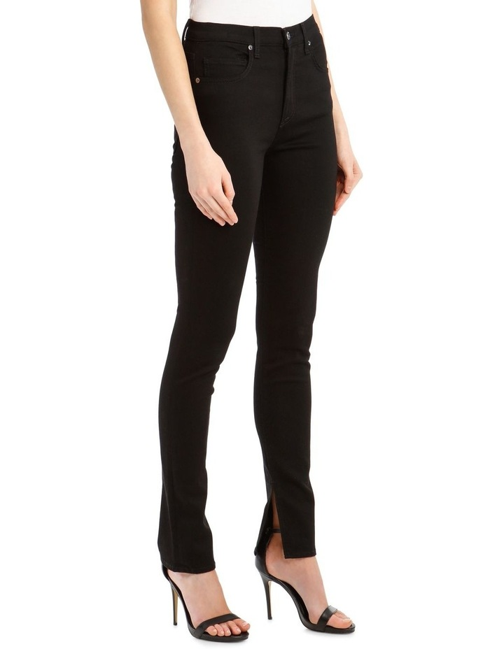 Kate High-Rise Skinny with Slit image 2