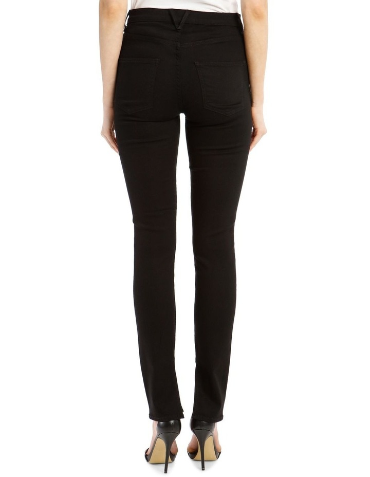 Kate High-Rise Skinny with Slit image 3