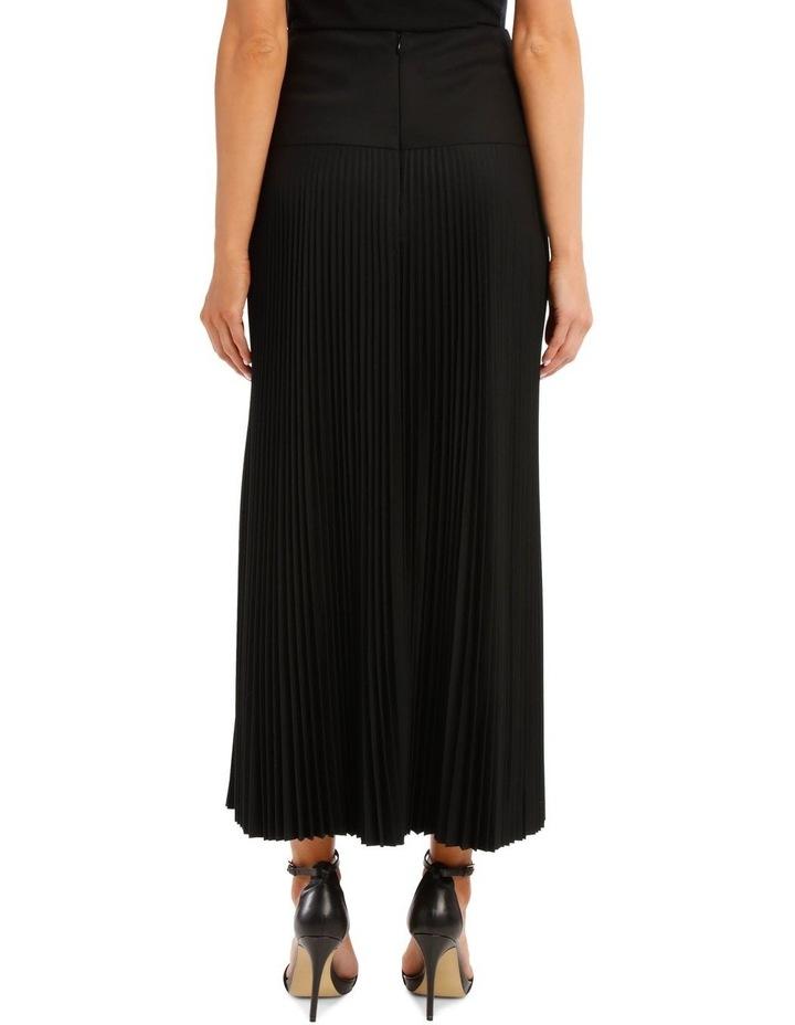 Bryanna Pleated Wool Skirt image 3