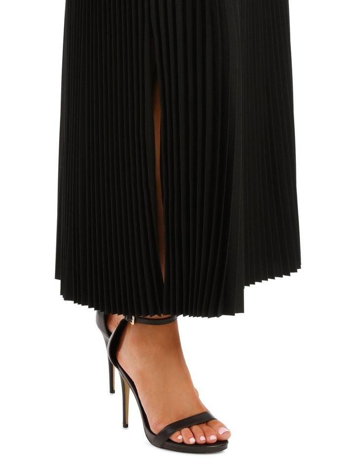 Bryanna Pleated Wool Skirt image 4