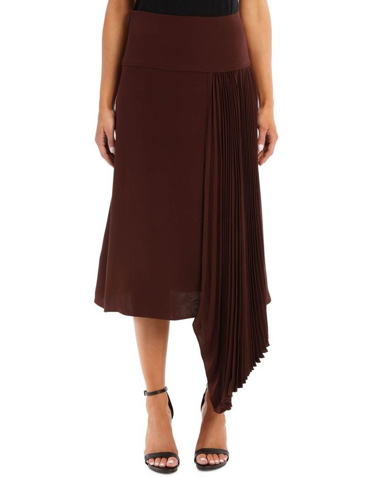 Selma Silk Crepe Skirt image 1
