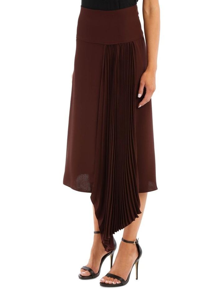 Selma Silk Crepe Skirt image 2