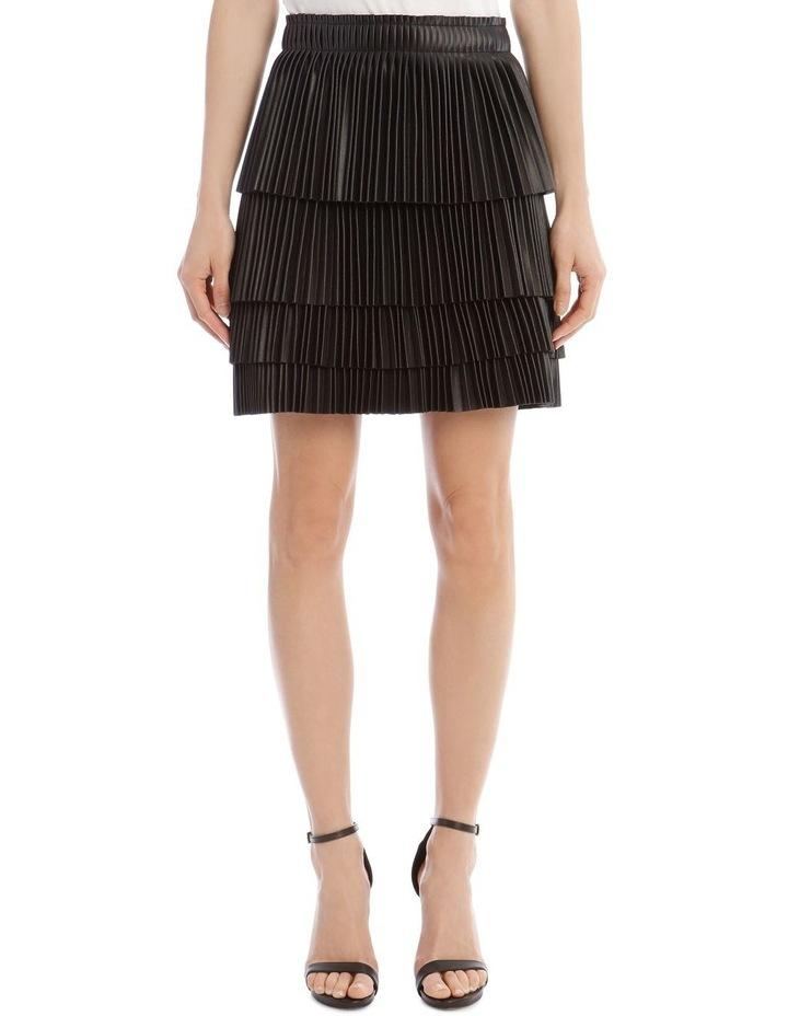 Brianna Tiered Pleat Skirt image 1