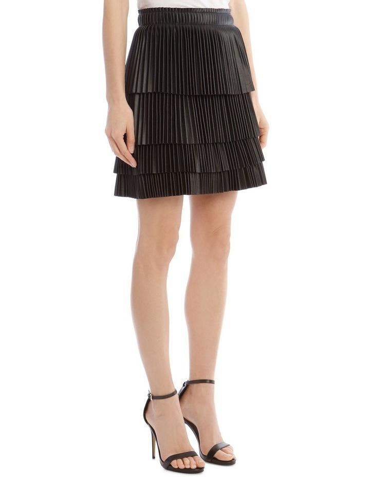 Brianna Tiered Pleat Skirt image 2