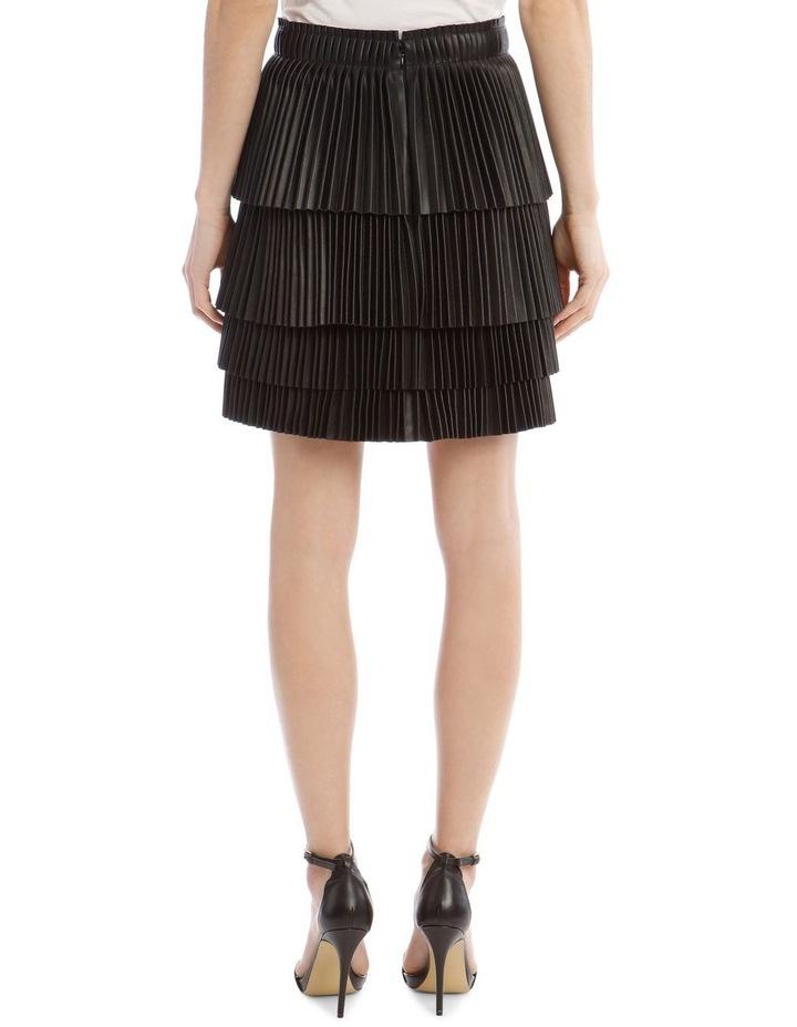 Brianna Tiered Pleat Skirt image 3