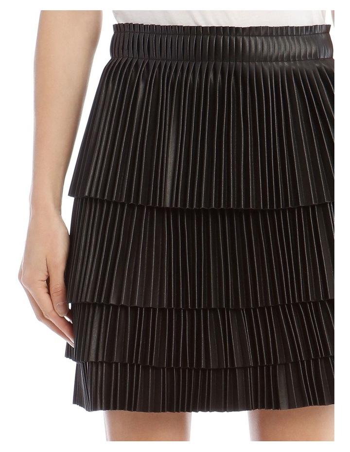 Brianna Tiered Pleat Skirt image 4