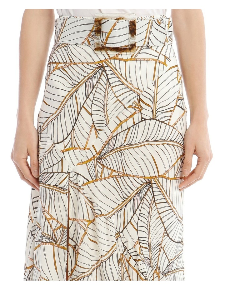 Mia Skirt in Palm Leaf image 4