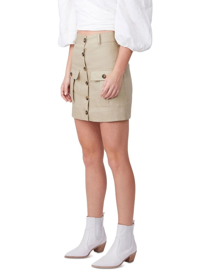 Muse Me Linen Skirt image 2