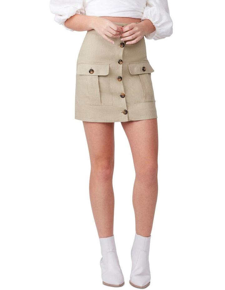 Muse Me Linen Skirt image 4