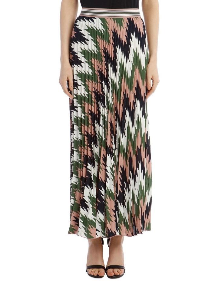 Pleated Maxi Skirt image 1