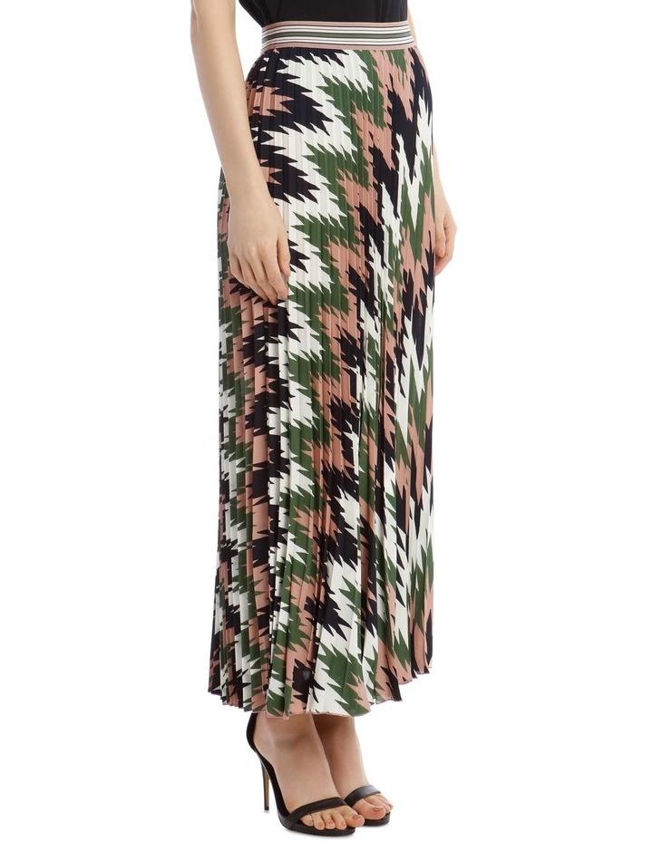 Pleated Maxi Skirt image 2