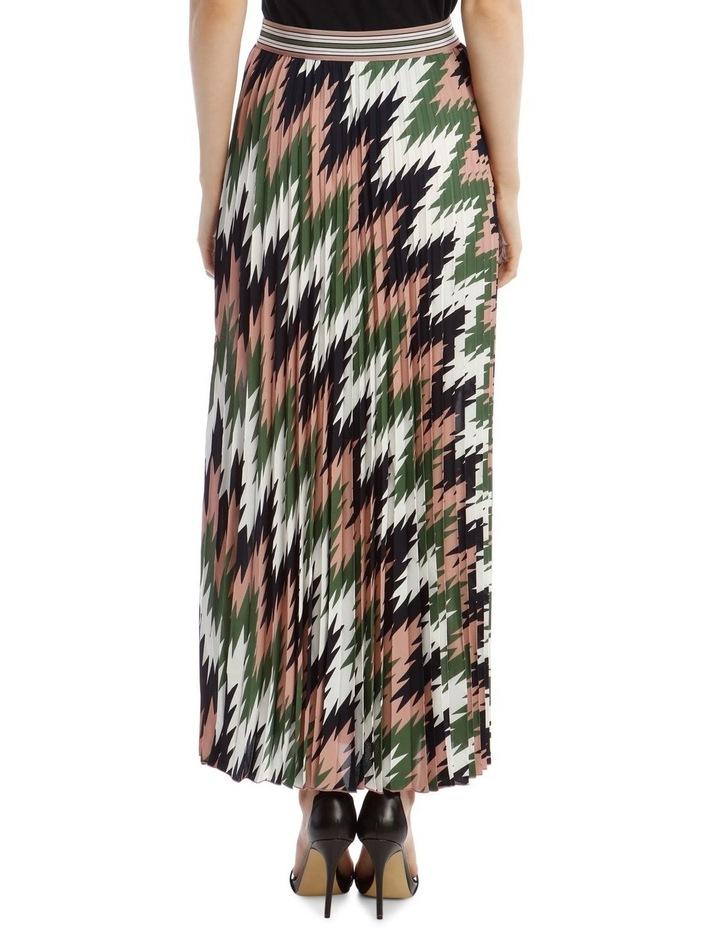 Pleated Maxi Skirt image 3