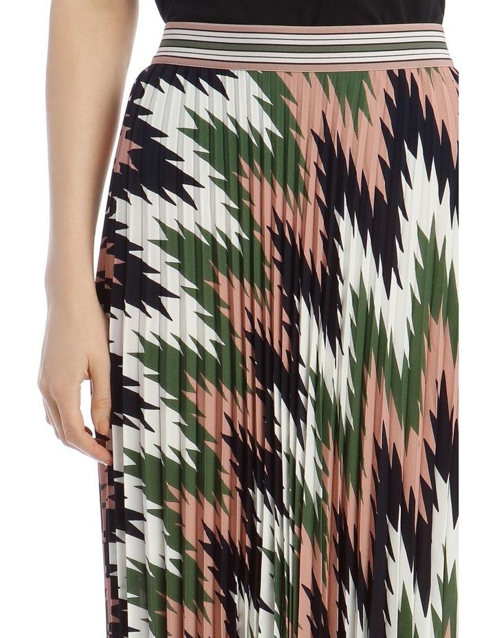 Pleated Maxi Skirt image 4