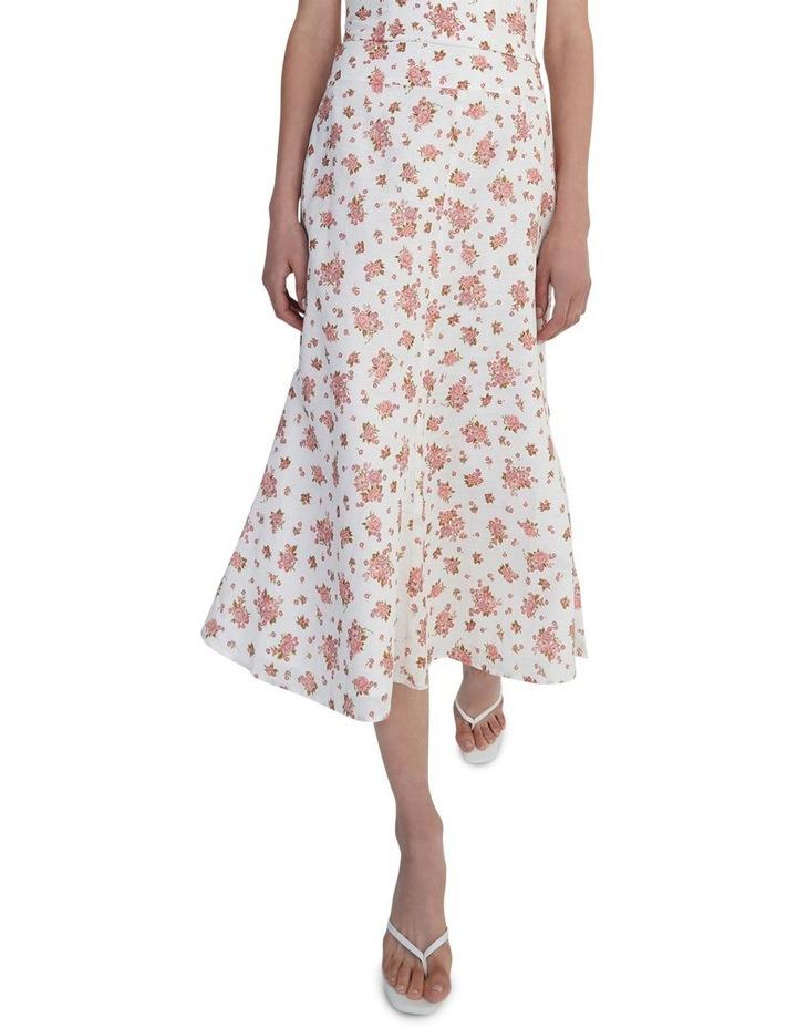 Mikaela Skirt Ivory Floral image 4
