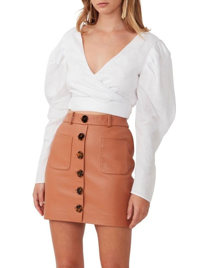 Button Me Up Mini Skirt image 1