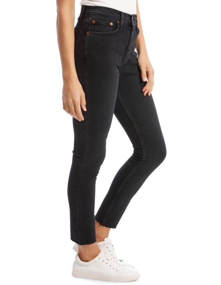High-Rise Cropped Comfort Stretch Jeans image 2