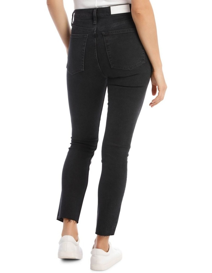 High-Rise Cropped Comfort Stretch Jeans image 3