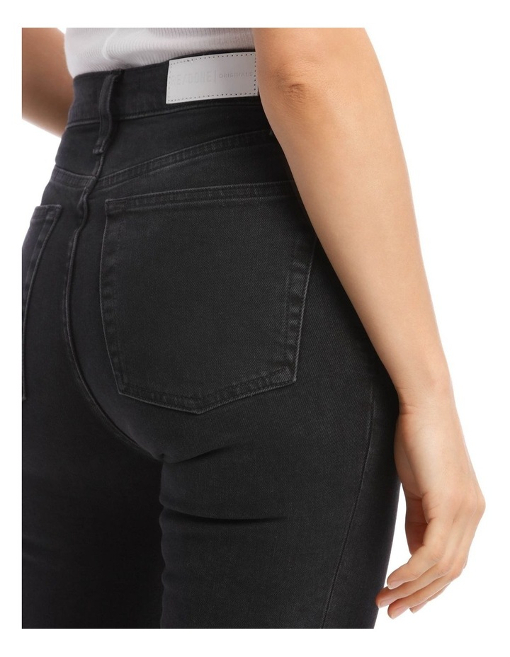 High-Rise Cropped Comfort Stretch Jeans image 4