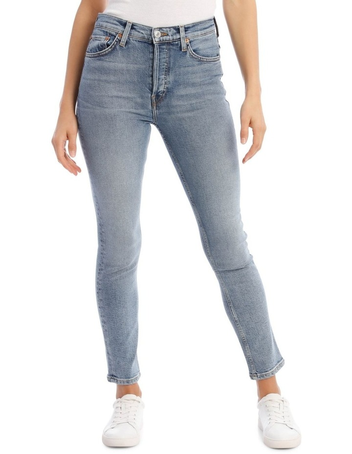 High-Rise Cropped Skinny Jeans image 1