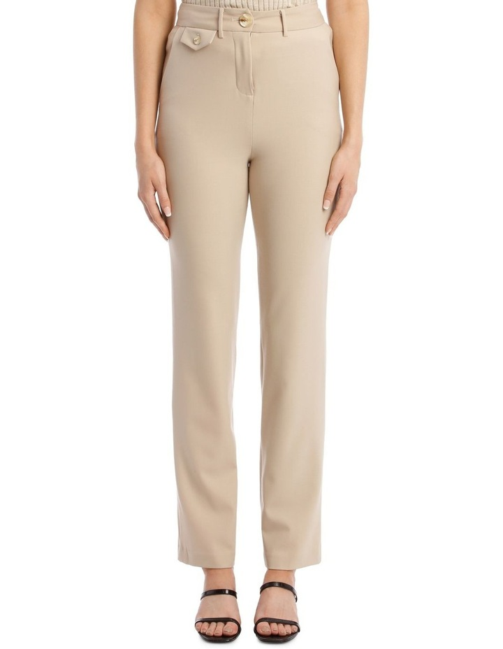 Roxy Pants In New Sand image 1
