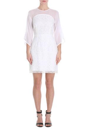 Wayne Cooper - Short Sleeve Curve Bodice Dress