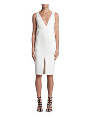 WHITE SUEDE - My Point Of View Dress