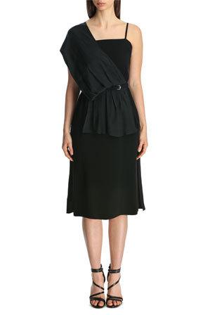 Mcq Alexander Mcqueen Scarf Drape Dress Myer Online