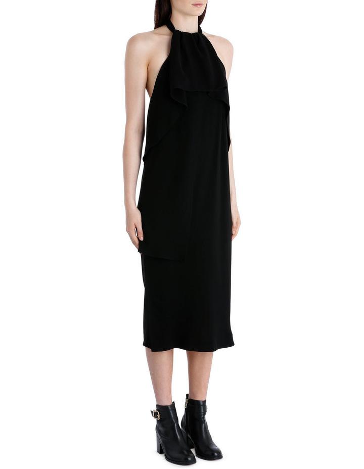 Drape Neck Dress image 3