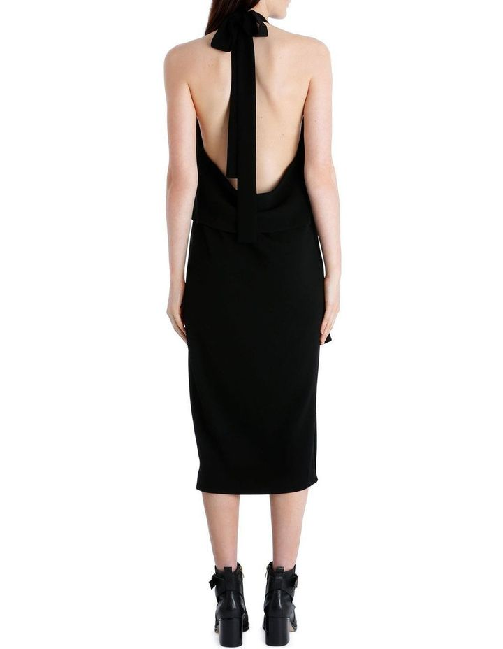 Drape Neck Dress image 4