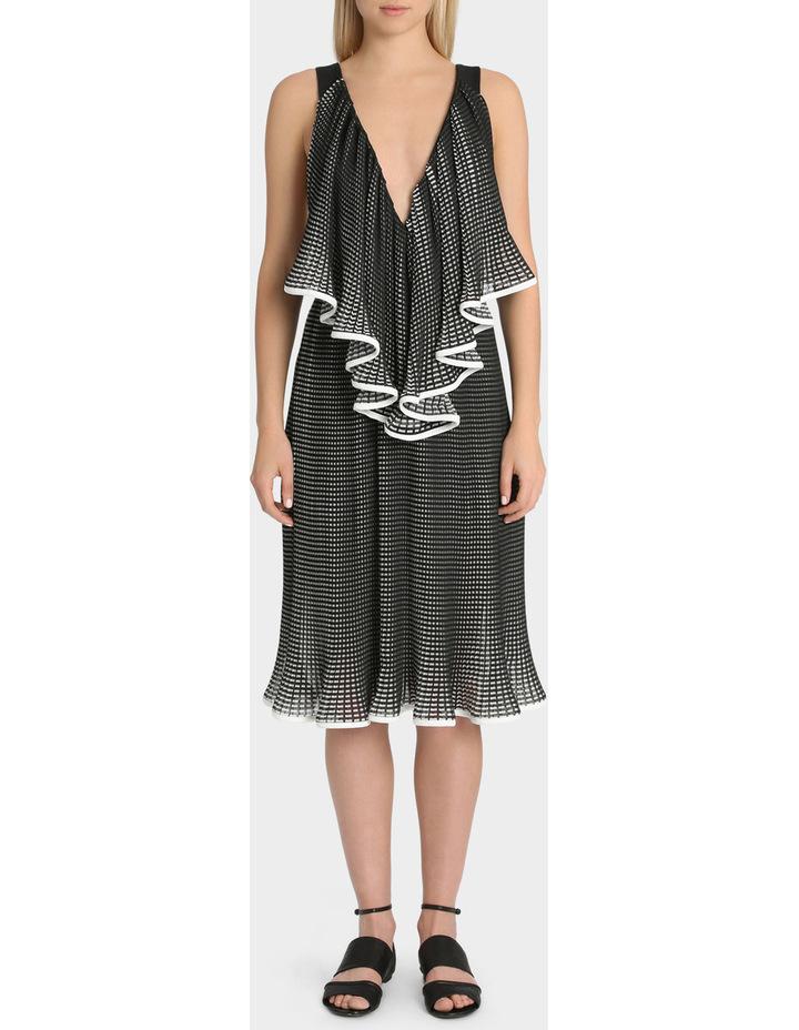 The Lucy-Iris Pleat Dress image 1
