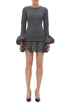 By Johnny - Ebony Stripe Rara Dress