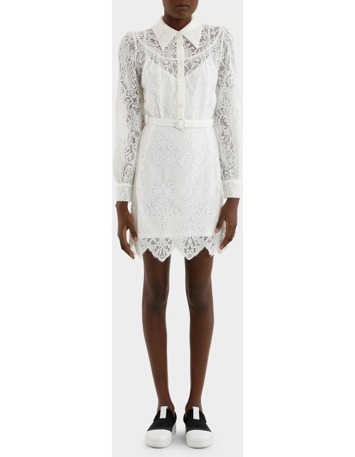 Lace Gthd Yoke Dress image 1