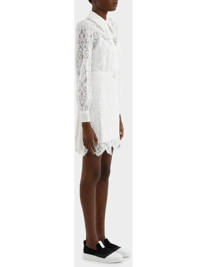Lace Gthd Yoke Dress image 2