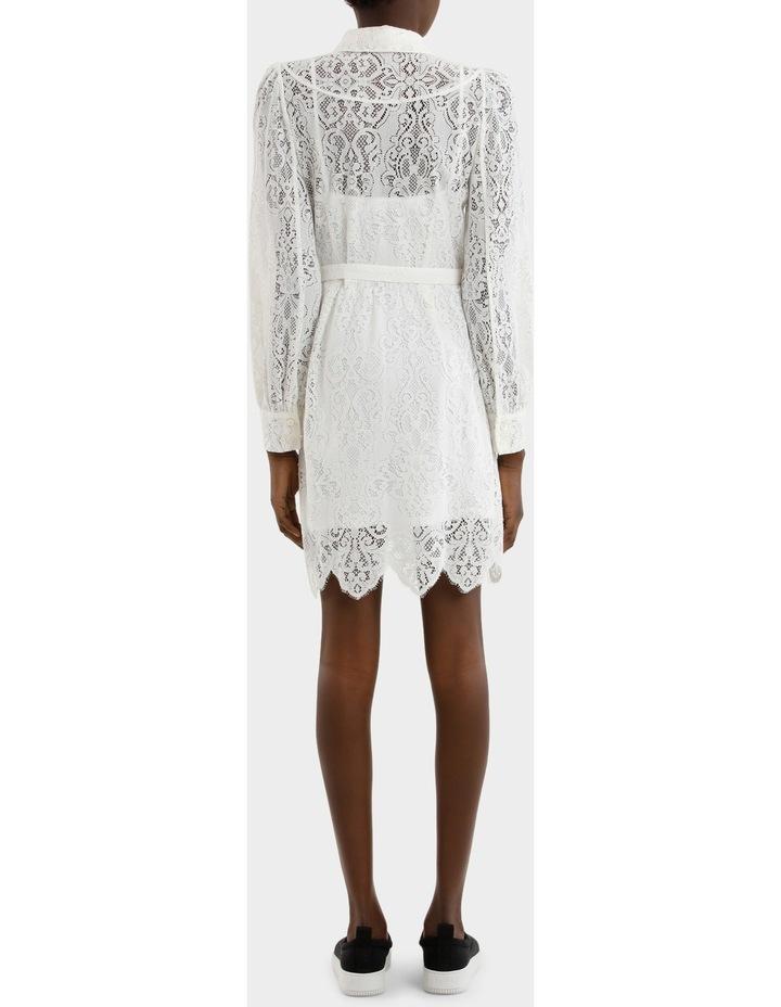 Lace Gthd Yoke Dress image 3