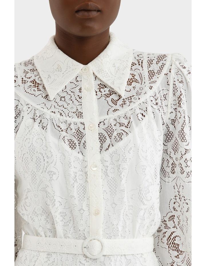 Lace Gthd Yoke Dress image 4
