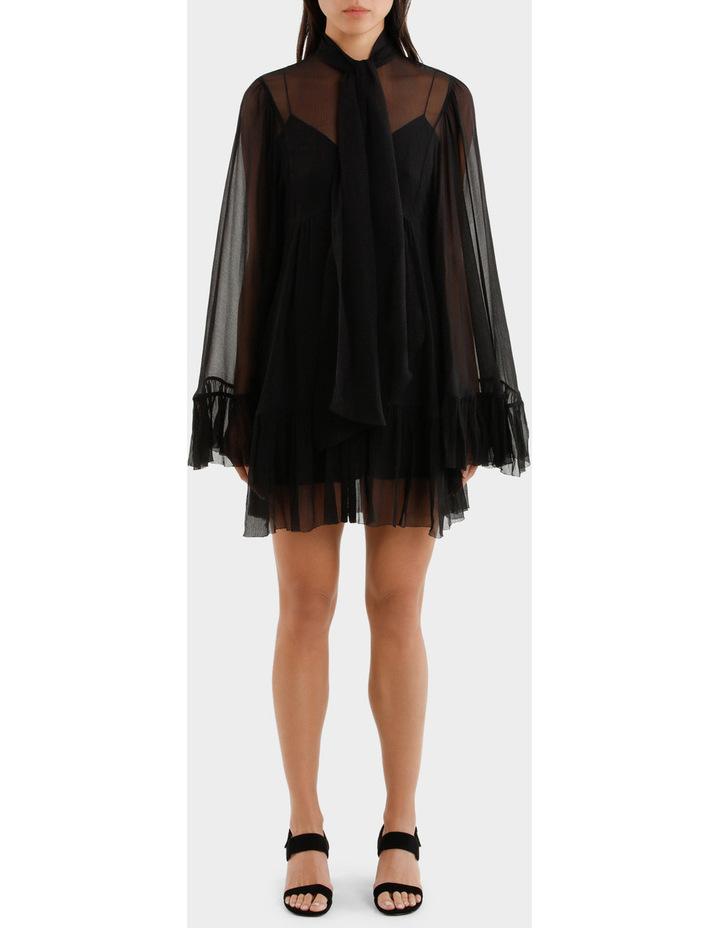 Short Volume Ruffle Dress image 1