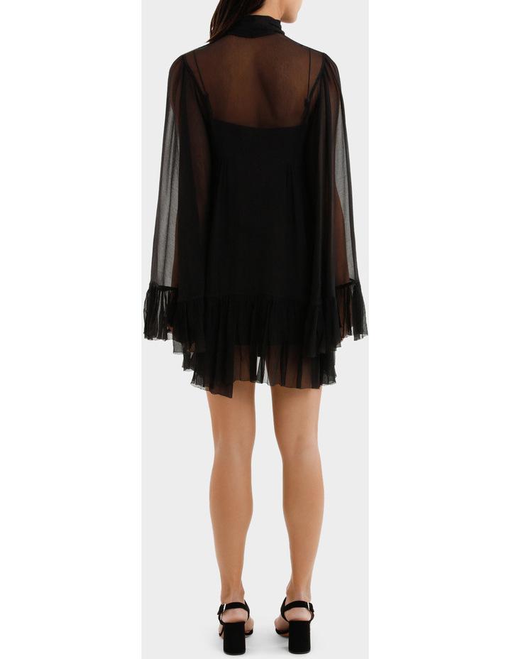 Short Volume Ruffle Dress image 3