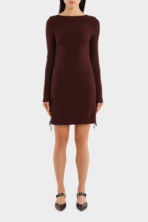 MCQ Alexander McQueen - Eyelet Mini Dress