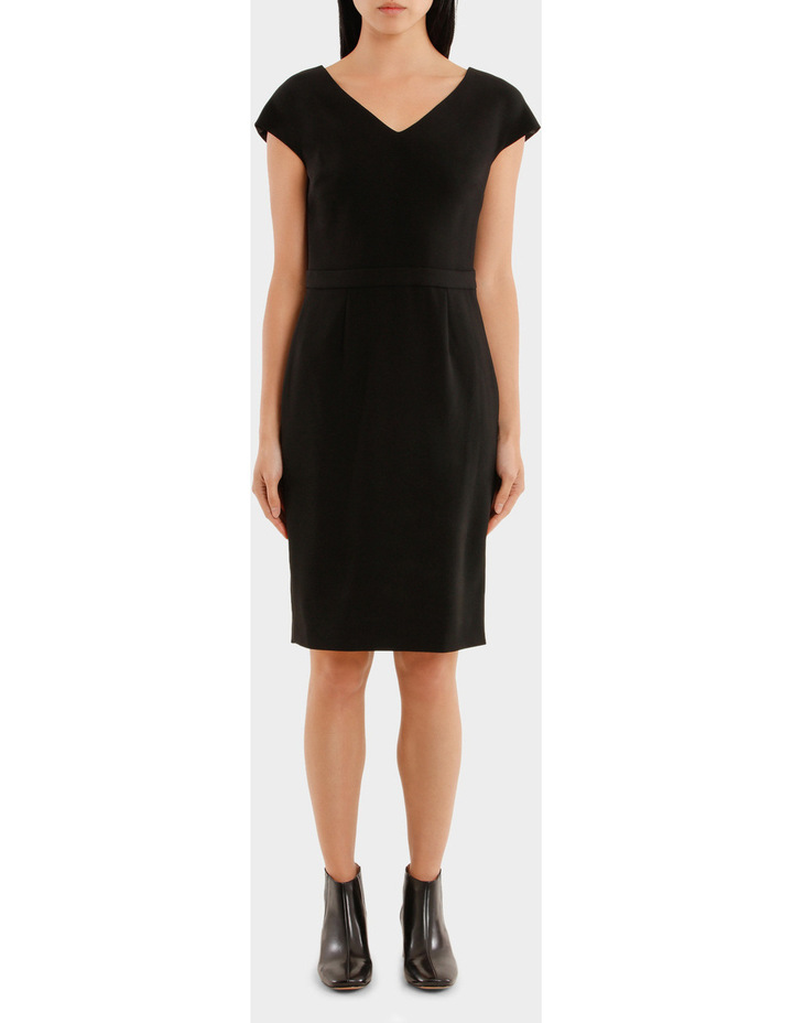 V-Neckline Dress image 1