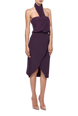 Misha Collection - Jane Silk Midi Dress
