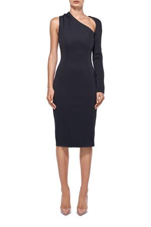 Misha Collection - Vivian One Shoulder Dress