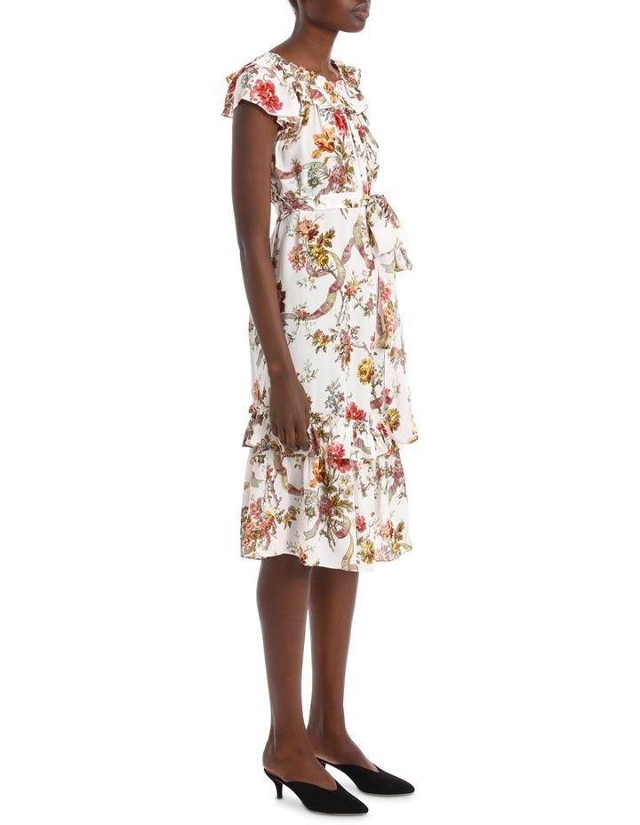 Rainbow Rose Tiered Dress. image 2